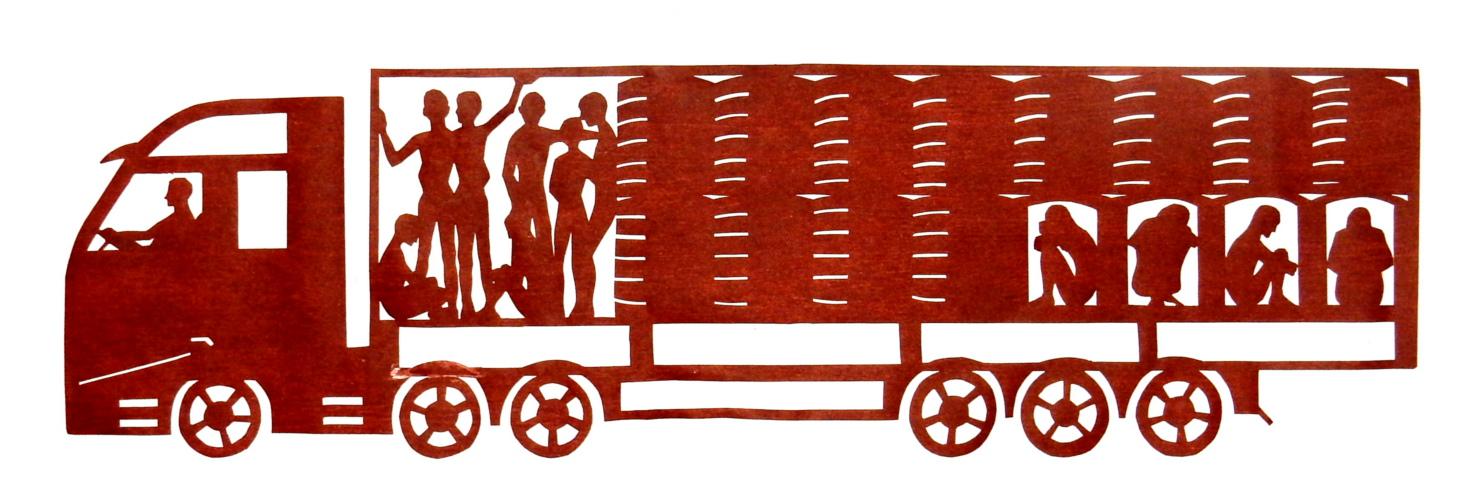 refugee smuggling stencil sm